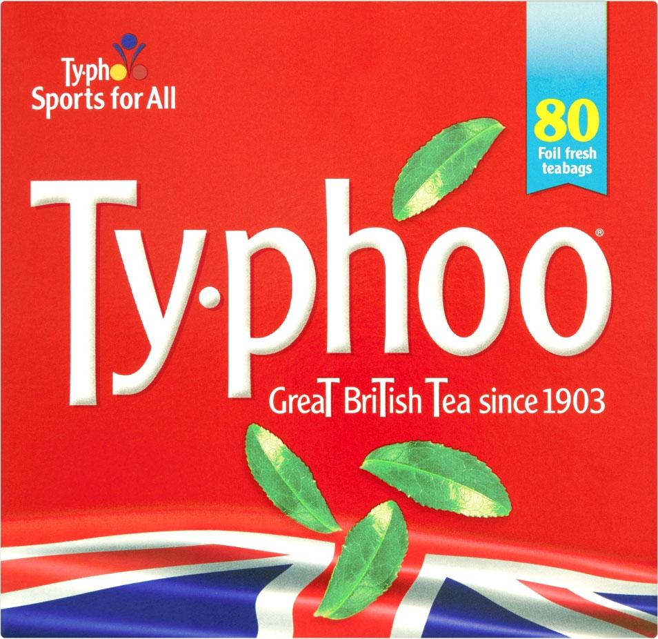 TYPHOO ROUND TEA 80+40
