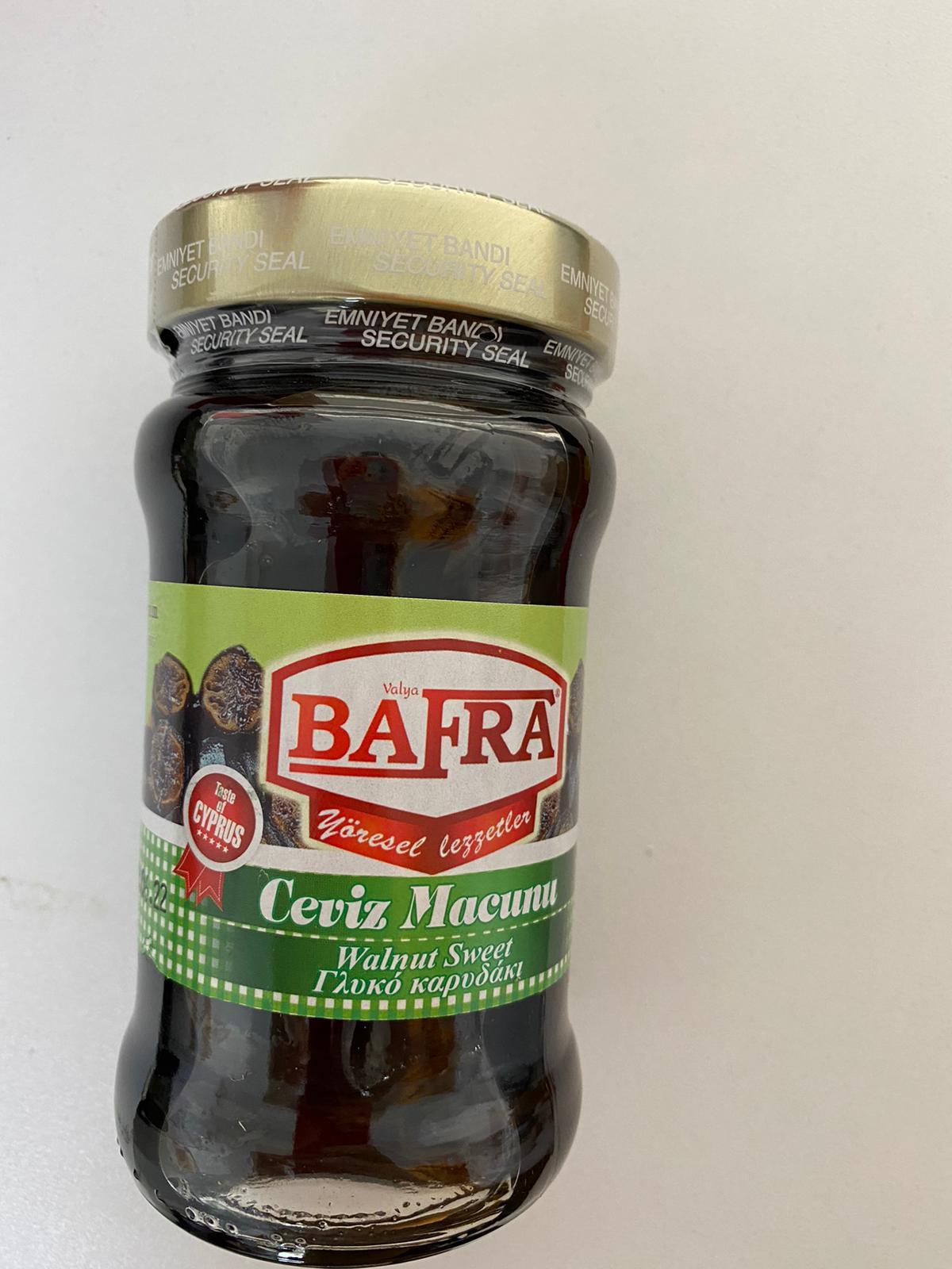 BAFRA CEVIZ MACUNU 375GR
