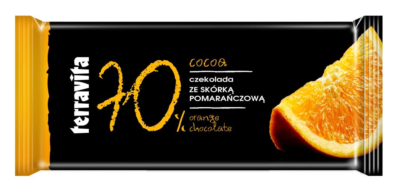 TERRAVITA %70 ORANGE CHOCOLATE
